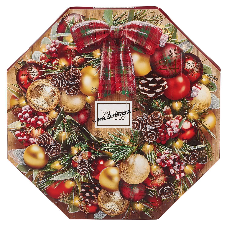 yankee candle adventní kalendář