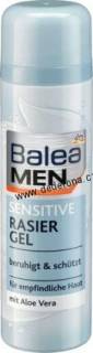 Balea MEN- GEL na HOLENÍ SENSITIVE 200ml -Německo!