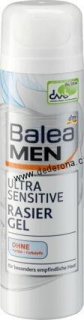 Balea MEN-GEL na HOLENÍ ULTRA SENSITIVE 200ml-Německo!