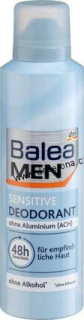 Balea MEN-Deo Spray Deodorant SENSITIVE 200ml-Německo!