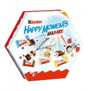 Kinder HAPPY MOMENTS Mini Mix 162g - Německo!